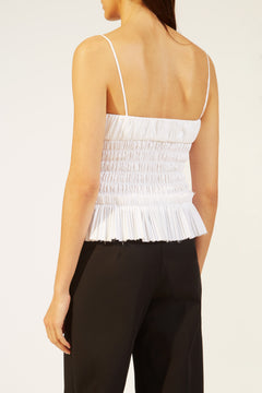 The Dagny Top in White