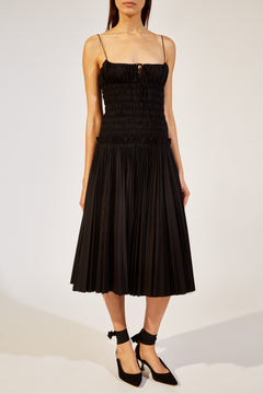 The Delphine Dress in Black