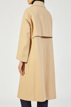 The Doris Coat in Khaki