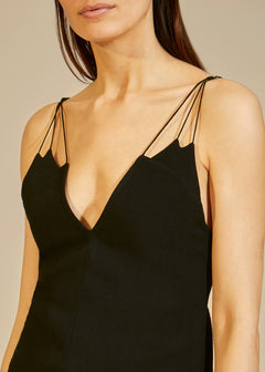 The Elenora Top in Black
