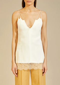 The Elenora Top in White