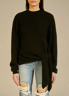 The Esme Sweater in Black