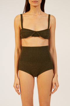 The Eda Bralette in Sage
