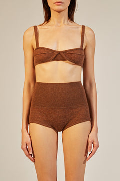 The Eda Bralette in Tobacco