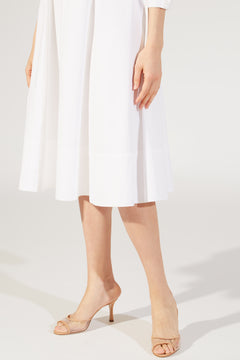 The Edwina Dress in White