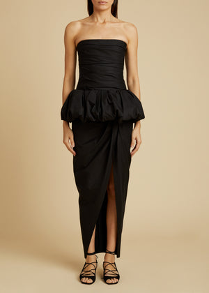 The Gwen Dress in Black
