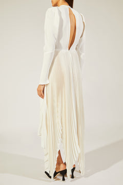 The Greta Dress in Ivory