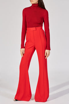 The Harriet Pant in Red