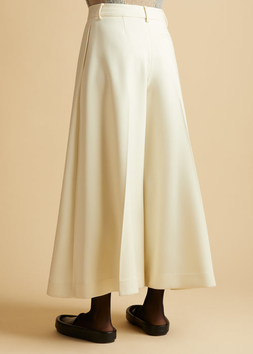 The Helina Pant in Ivory