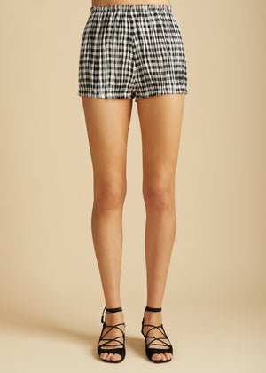 The Hilary Short in Gingham