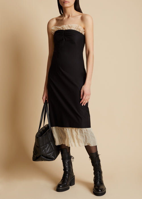 The Irene Dress in Black