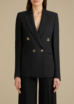 The Isa Blazer in Black