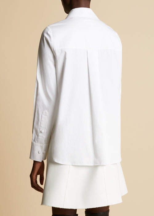 The Jackie Top in White