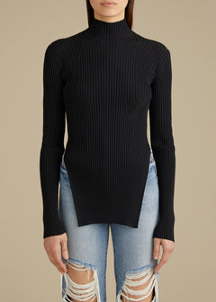 The Jacque Sweater in Black