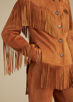 The Jimmy Jacket in Chestnut Suede