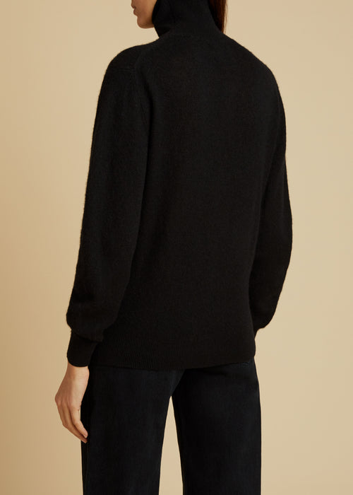 The Julie Sweater in Black