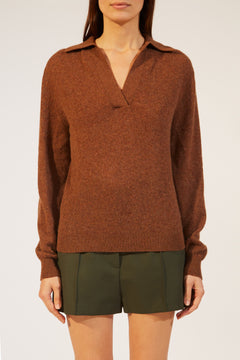 The Jo Sweater in Tobacco