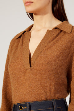 The Jo Sweater in Toffee