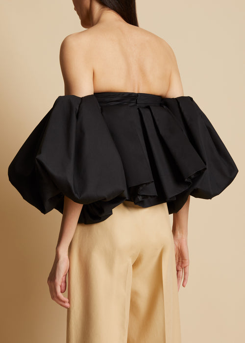 The Katerina Top in Black