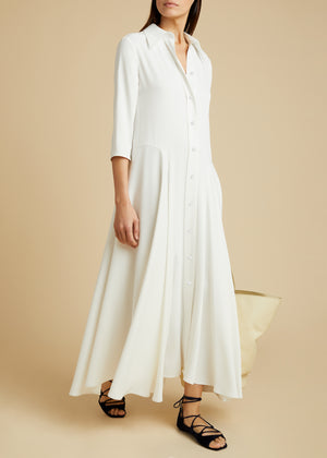 The Katie Dress in Ivory