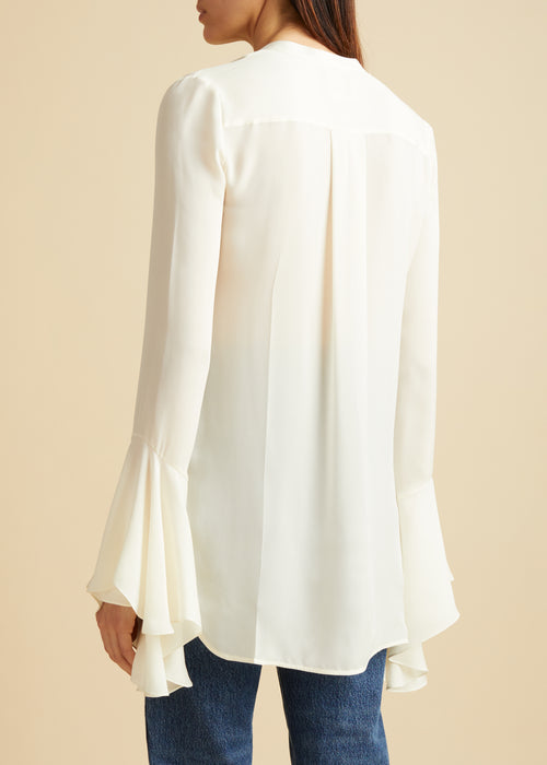The Keith Top in Ivory