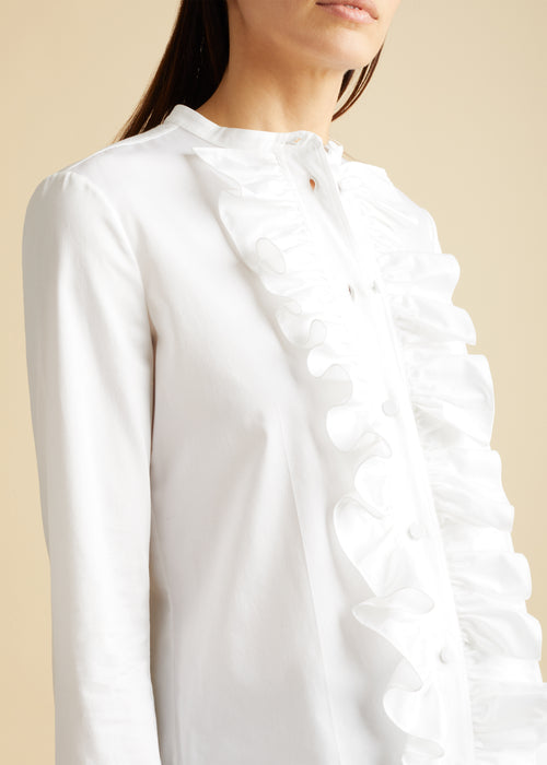The Keith Top in White