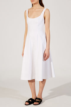 The Cindy Dress in White