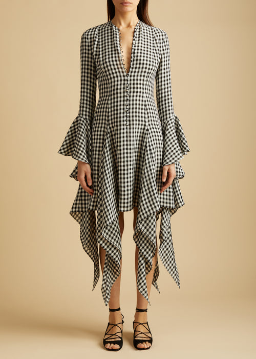 The Laura Dress in Gingham