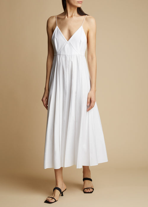 The Lianne Dress in White