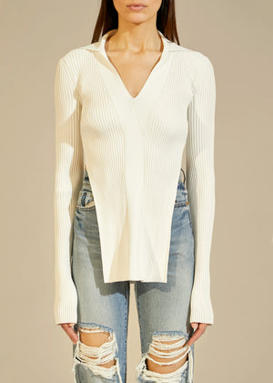 The Lilia Sweater in Cream