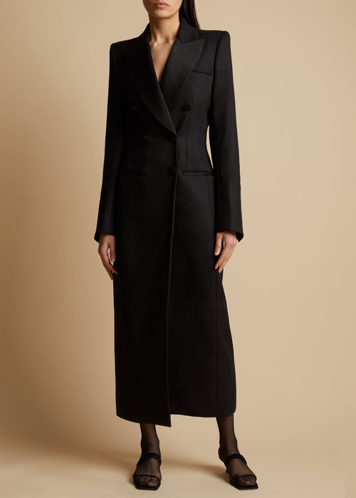 The Tania Coat in Black