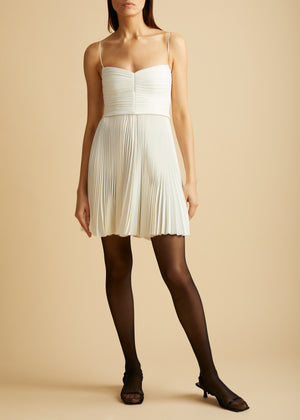 The Lou Lou Dress in Ivory