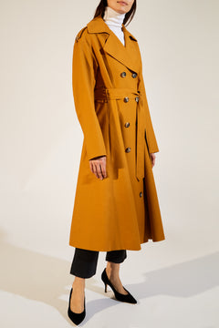 The Lauren Trench in Ochre
