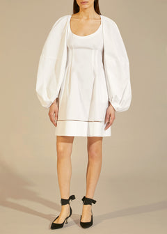 The Madison Dress in White