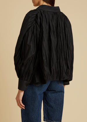 The Malone Top in Black