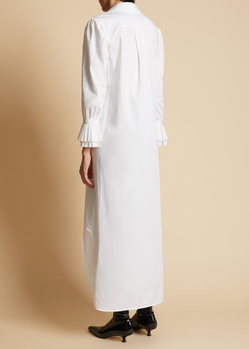 The Mari Dress in White