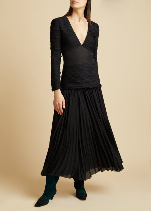 The Mary Dress in Black