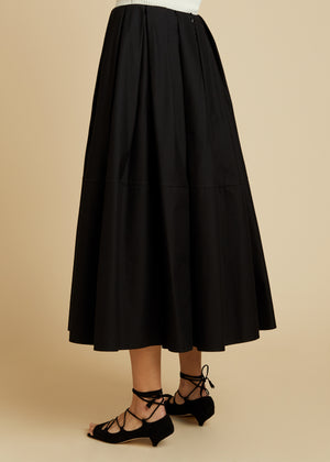 The Meryl Skirt in Black