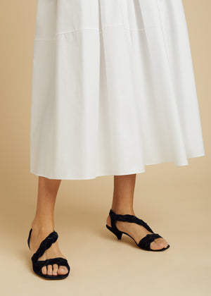 The Meryl Skirt in White