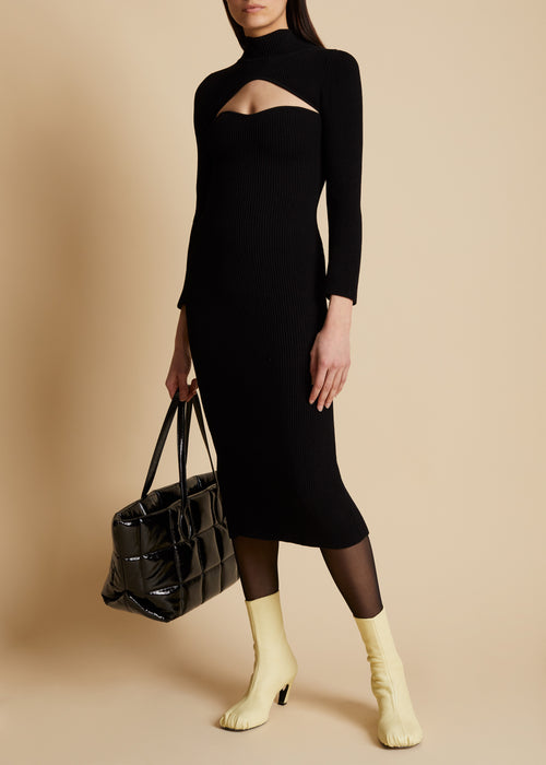 The Mischa Dress in Black