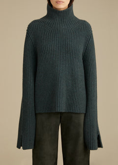 The Molly Sweater in Forest Green