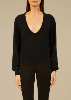 The Mallory Sweater in Black