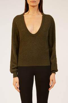 The Mallory Sweater in Sage