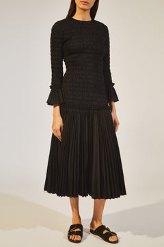 The Mariella Dress in Black