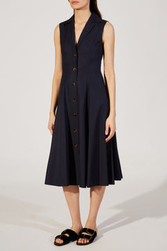 The Marilyn Dress in Navy