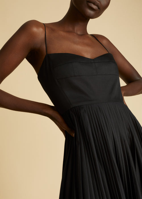 The Pamela Dress in Black
