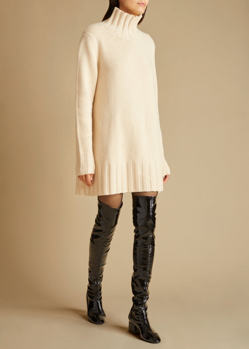 The Paola Sweater in Custard