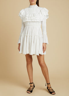 The Paula Dress in White