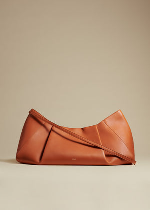 The Large Jeanne Crossbody Bag in Cognac Leather