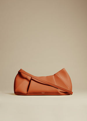 The Small Jeanne Crossbody Bag in Cognac Leather